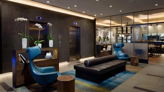 Lobby inside Luma Hotel Times Square