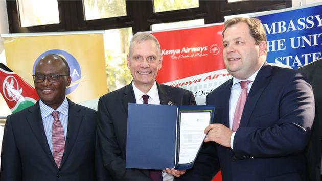 Kenya Airways agreement