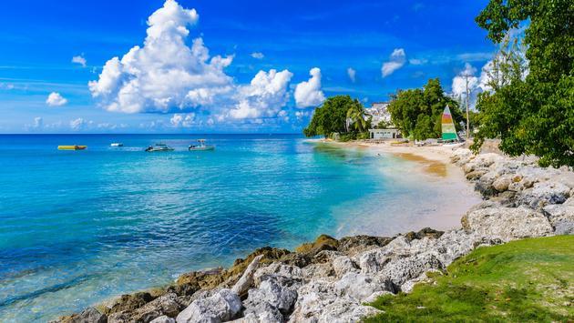Coast of the Caribean Sea, Bridgetown, Barbados