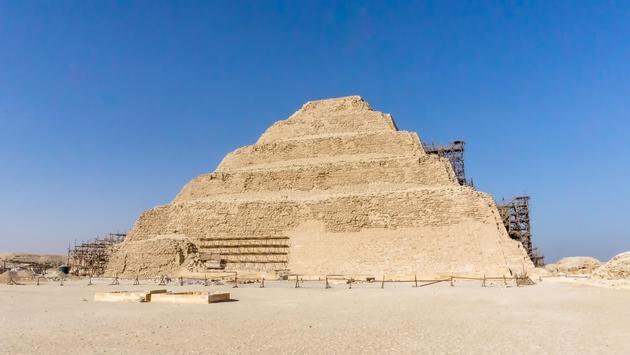 Pyramid of Djoser in the Saqqara necropolis, Egypt