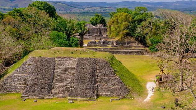 Xunantunich Maya ruins in Belize