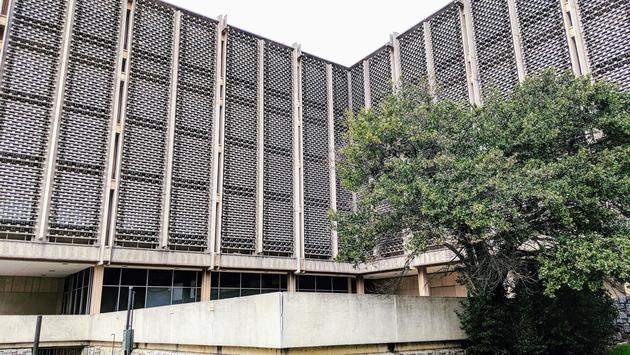 Building exterior used as the Hawkins Laboratory for Netflix' 'Stranger Things'