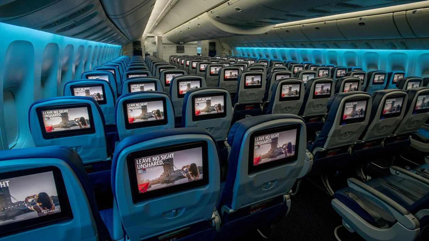 "Delta CEO Says ""Ask First"" When It Comes To Reclining Airplane Seat"