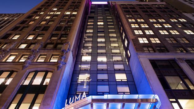 Luma Hotel Times Square exterior