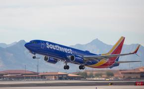 Southwest Boeing 737 at Phoenix Sky Harbor International Airport