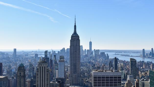 Empire State Building & New York City Skyline