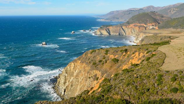 California's Pfeiffer Big Sur State Park