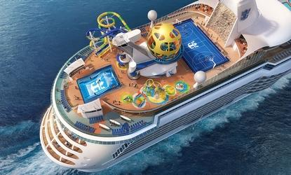Royal Caribbean International renders Mariner of the Seas' upper aft deck additions