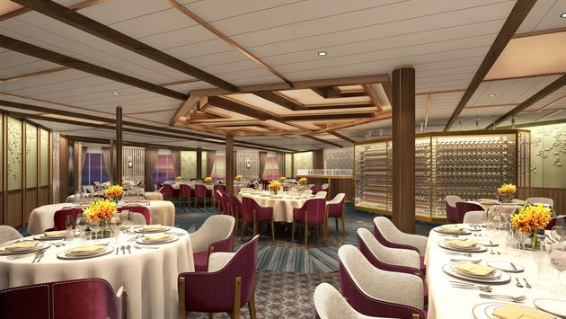 Seabourn, new, restaurant
