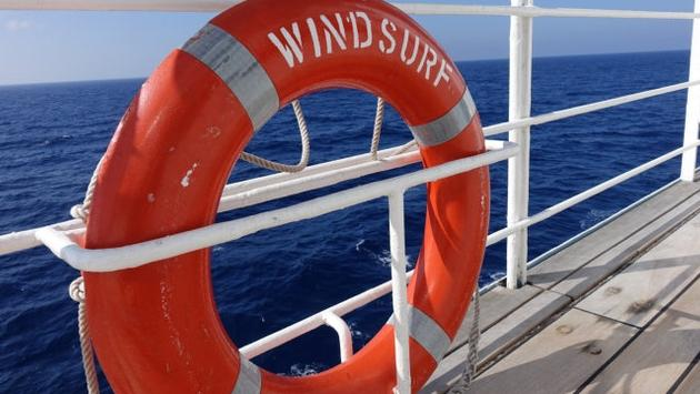Wind Surf is one of the largest vessels in the Windstar Cruises fleet.