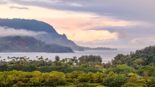 Bahía de Hanalei, Kauai (Foto de Lauren Breedlove)