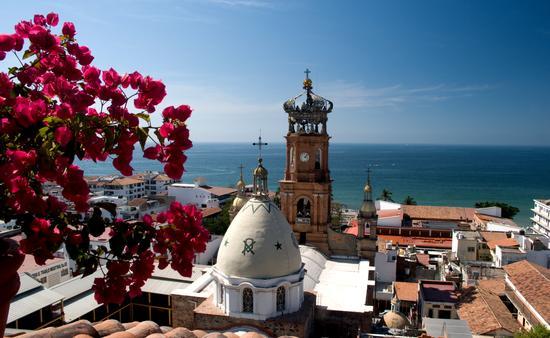 Vista panorámica del centro de Puerto Vallarta. (Foto de la Secretaría de Turismo de Jalisco)