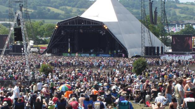 Glastonbury Festival, festival, uk, england, crowd, stage, concert