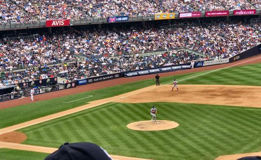 Yankee Stadium in New York City