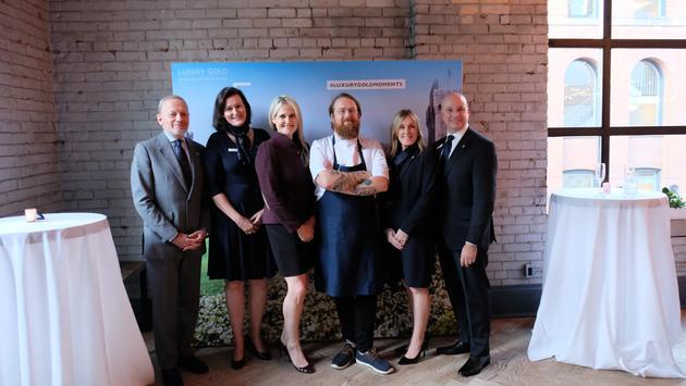 Luxury Gold and Tourism Ireland, Toronto