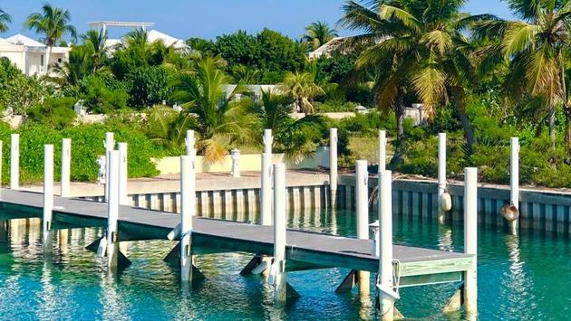Providenciales Pier in Turks & Caicos