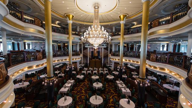 main dining room on Liberty of the Seas