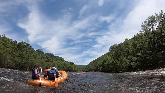 El Pocono ofrece aventuras en el río y rafting. (Foto de Deb Schell)