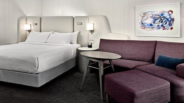 Crowne Plaza Hotels & Resorts' WorkLife Room