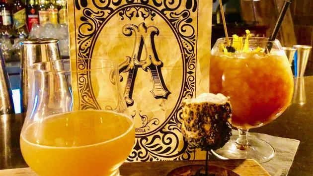 Craft cocktails at Apparition Room in Temecula, California