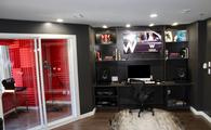 The Sound Suite recording studio at the W Seattle Hotel