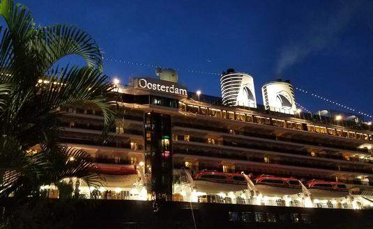 Holland America's MS Oosterdam