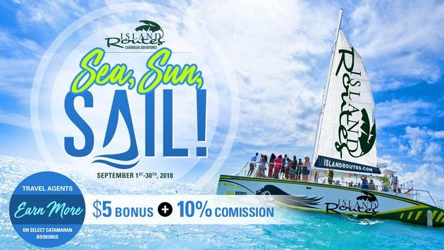 Earn 10% +$5 bonus commission during our SEA SUN SAIL event