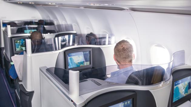 JetBlue Mint seating