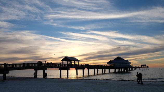Sunset ClearwaterBeach Florida