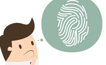branding, fingerprint