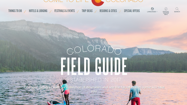 The Colorado Field Guide helps travelers plan their perfect trip to Colorado.
