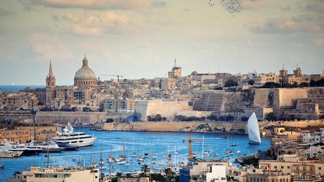 Valletta, the capital city of Malta