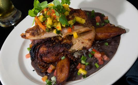 jerk chicken, jamaica, jamaican food