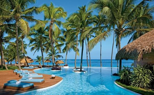 Infinity Pool at Zoetry Agua Punta Cana, resort