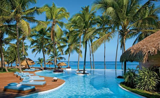 Infinity Pool at Zoetry Agua Punta Cana, resort
