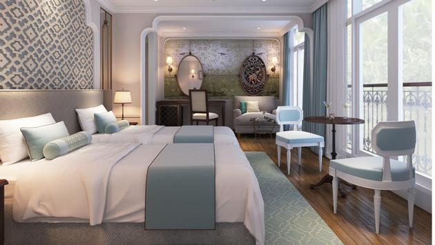 Suite onboard Uniworld's Mekong Jewel