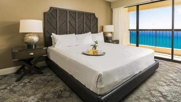 The Residences at Waikiki Beach Tower master bedroom