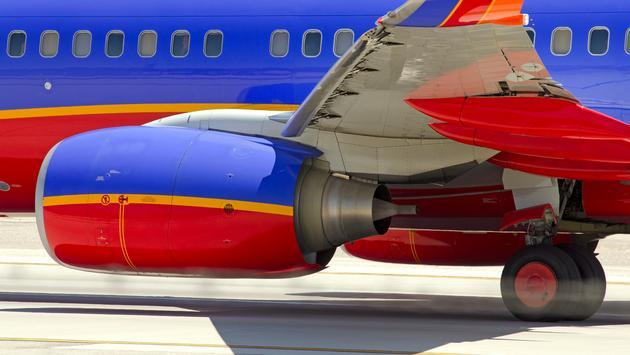 southwest, plane, flight
