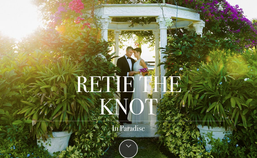 Retie the Knot in Paradise