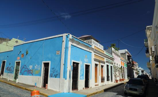 The colorful streets of San Juan, Puerto Rico
