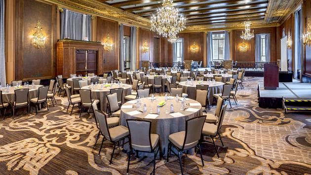InterContinental Chicago Magnificent Mile Hotel's King Arthur Court meeting room