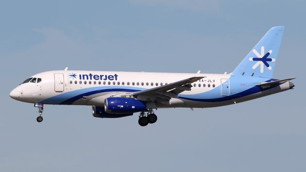 Interjet, plane, flight