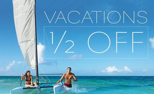 Vacations Half Off