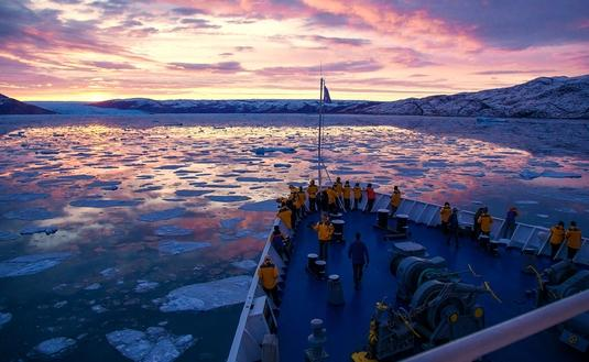 Quark Expeditions in Greenland