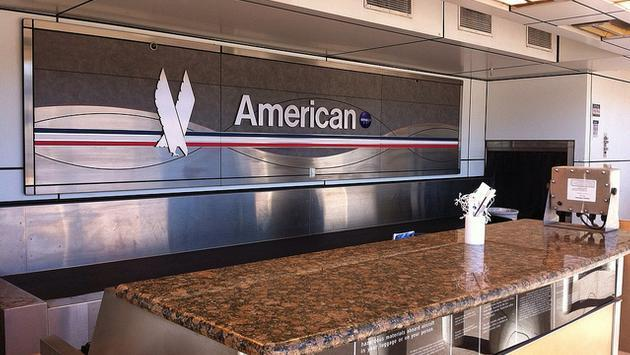 American Airlines ticket counter
