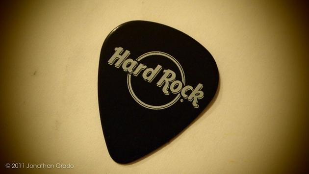 Hard Rock guitar pick
