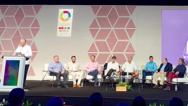 Airline connectivity panel, Tianguis 2018