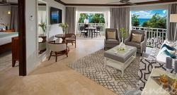 $1,000 Instant Credit: Beachfront One Bedroom Butler Suite with Balcony Tranquility Soaking Tub