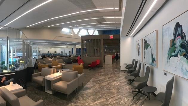 Air Canada Maple Leaf Lounge, LaGuardia
