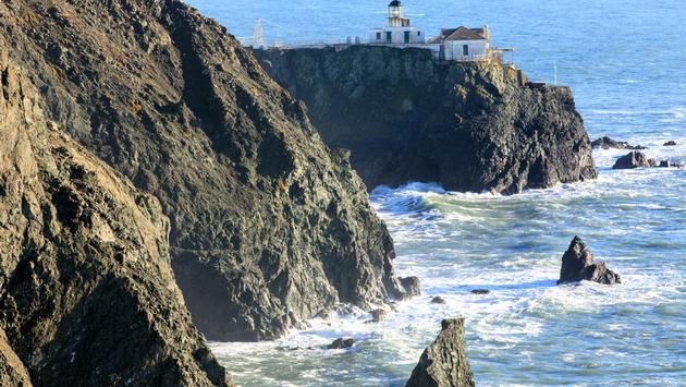 Point Bonita Lighthouse in Marin Headlands, San Francisco, California